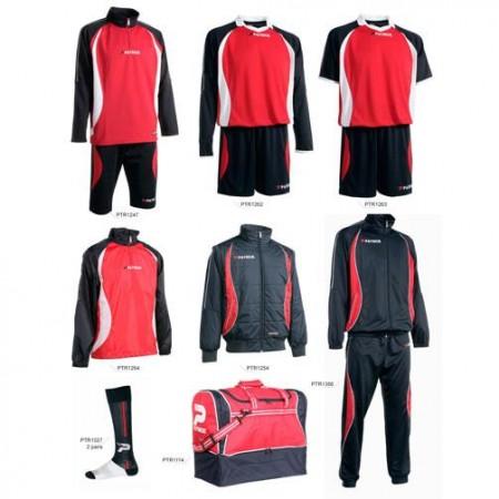 Set complet echipament fotbal Patrick Gold 033