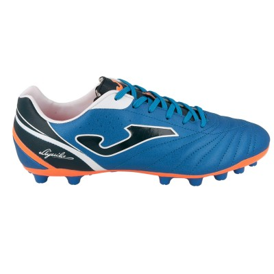 Ghete fotbal iarba artificiala AGUILA 604 Albastru, JOMA