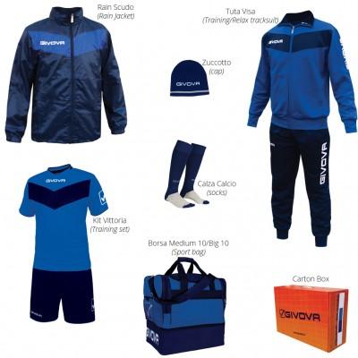 Set echipament sportiv fotbal Box Vittoria GIVOVA
