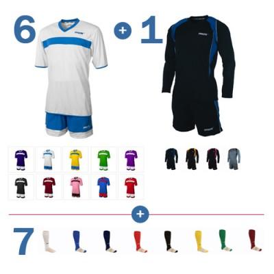 Set special echipament fotbal Prosesto 6 + 1 + 7 MAX