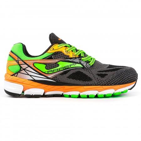 Pantofi sport alergare, R.CARRERA 601 NEGRU-FLUORESCENT, JOMA